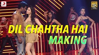 Download Hindi Video Songs - Okkadochadu - Dil Chahtha Hai Tamannaah Telugu Making Video | Vishal | Hiphop Tamizha