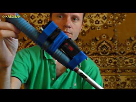 Как сделать электроудочку в домашних условиях видео