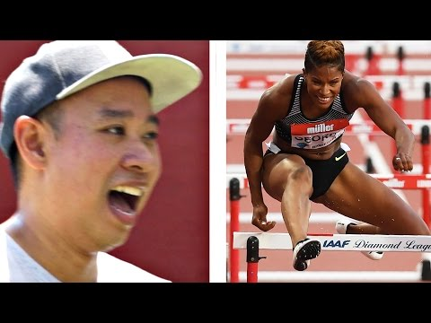 Regular People Try Hurdles For The First Time