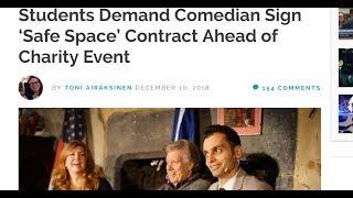 Something strange happening with comedy