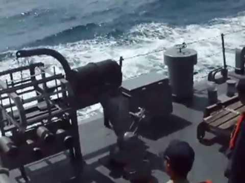 เรือรบไทยยิงระเบิดน้ำลึก   YouTube