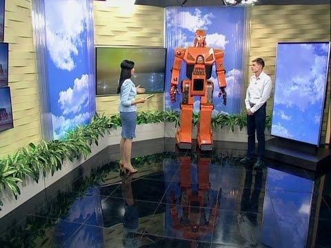 Конструктор Виталий Рубанов: собирать роботов мне помогает мой отец