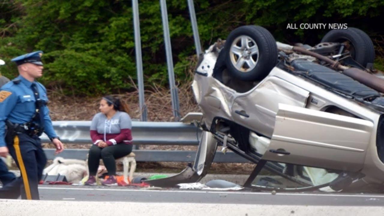 Multi-Car Crash on I-280 in West Orange