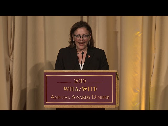 2019 WITA/WITF Annual Awards Dinner - Congressional Leadership Award - Congresswoman Suzan DelBene
