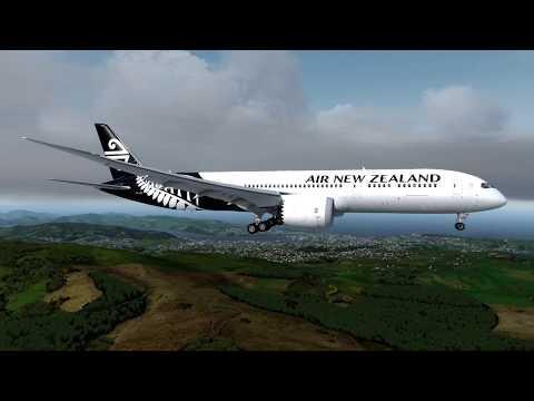 Qualitywings 787 - NZDN - P3Dv4