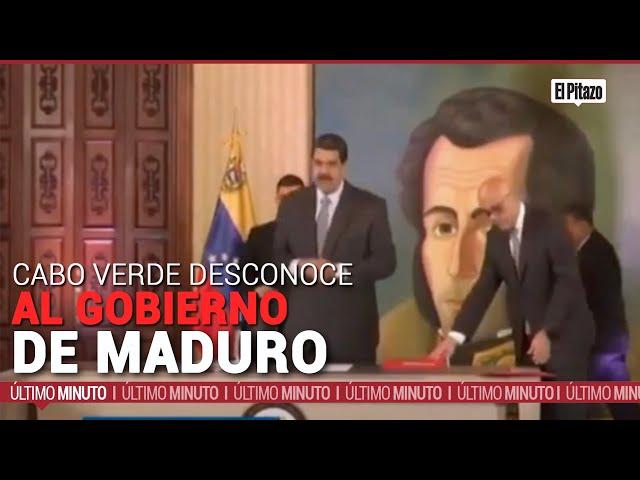 Cabo Verde desconoce al gobierno de Maduro y a Saab como agente diplomático