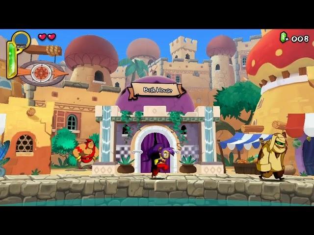 PS Vita Longplay [028] Shantae - Half Genie Hero
