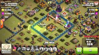 LEYENDAS AE vs After Dark© - Guerras de Clanes #2 - Clash of Clans Español