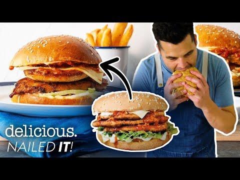 Can Wazza Decode Oporto's Famous Bondi Chicken Burger? | Delicious. Australia