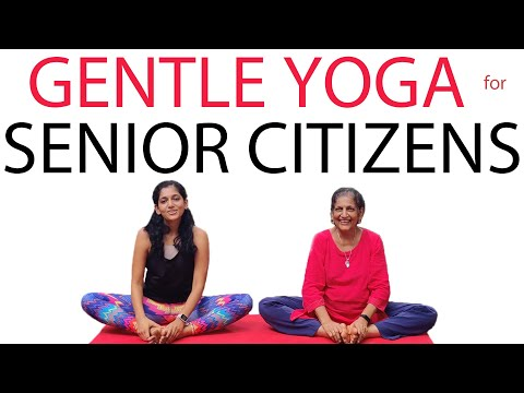 Yoga for Senior Citizens | Gentle Yoga Asanas for 60 to 70 year olds | Yogalates with Rashmi