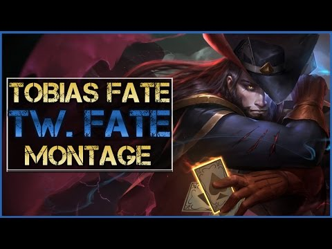 Tobias Fate Montage - Best Twisted Fate Plays | League of Legends