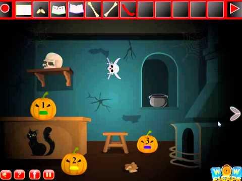 Scary Halloween House Escape 3 Video Walkthrough Youtube