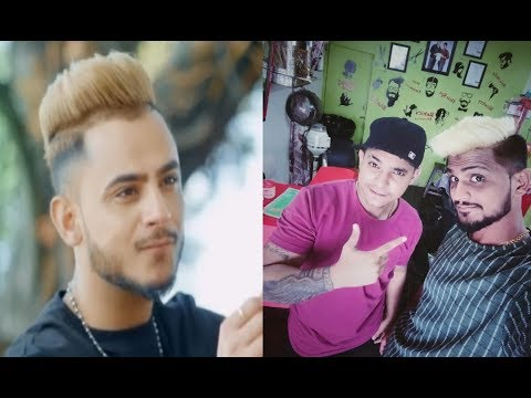 Millind gaba Hairstyle / Platinum Blond Highlight / Hair colour done by ROHIT'S Hairstylist....#46