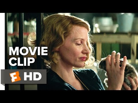 The Zookeeper's Wife Movie CLIP - What's in Their Hearts (2017) - Jessica Chastain Movie