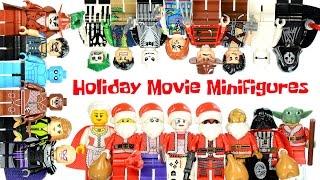 Deadpool Joker Harley Quinn Star Wars Watchmen & Movie Maniacs Holiday Unofficial LEGO Minifigures