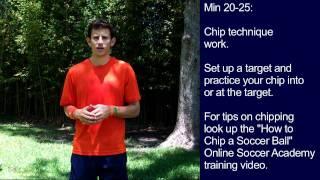 Soccer Training - 30 Minute Soccer Training Session #9 - Online Soccer Academy