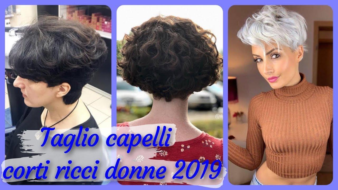 Oltre 20 Migliori Idee Per Taglio Capelli Corti Ricci Donne 2019