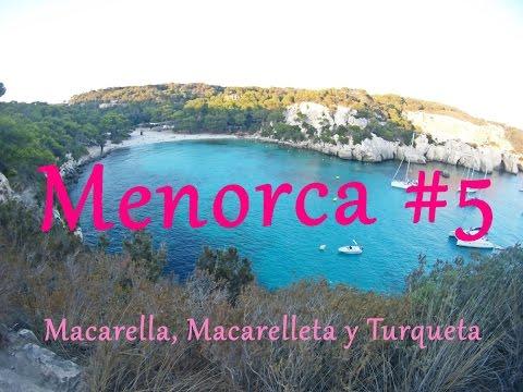 Calas RECOMENDADÍSIMAS: turqueta, macarella y macarelleta | MENORCA 2016 #5/6