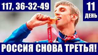 Паралимпиада 2020 в Токио Россия снова на третьем месте У нее 117 медалей 36 32 49