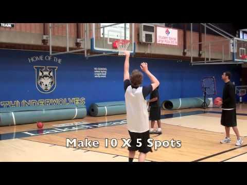 Individual Post Workout Lakehead Basketball