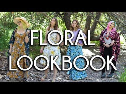 [VIDEO] - Spring Florals Lookbook | SQUAD STYLED 1