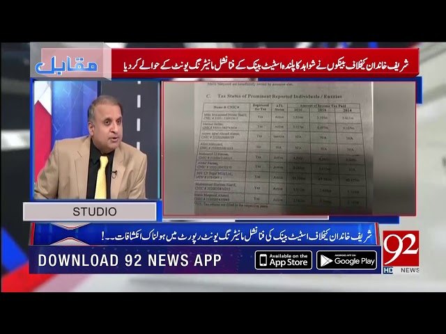 Rauf Klasra unveils some important facts regarding frauds of Sharif's family| 12 Dec 2018 | 92NewsHD