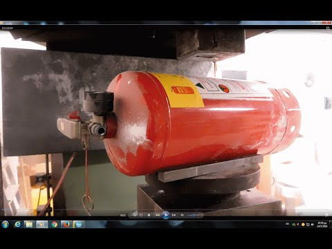 Thumbnail: Experiment Big Fire Extinguisher Vs 200 ton Hydraulic Press The Crusher
