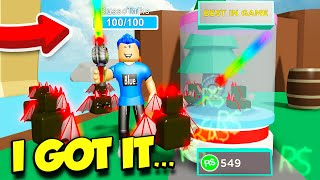 If You Buy THIS Sword In HERO SIMULATOR You Can Defeat ANYONE IN THE GAME! (Roblox)