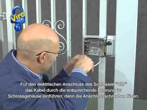 Elektrisches Turschloss V97 Youtube