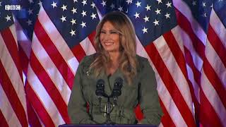 Melania Trump: 'Media created picture of my husband I don't recognise' - BBC News