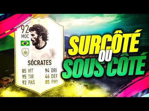 FIFA 19 - ON TESTE SOCRATES 92 EN FUT CHAMPION ET CONTRE UN TOP 100 ! thumbnail