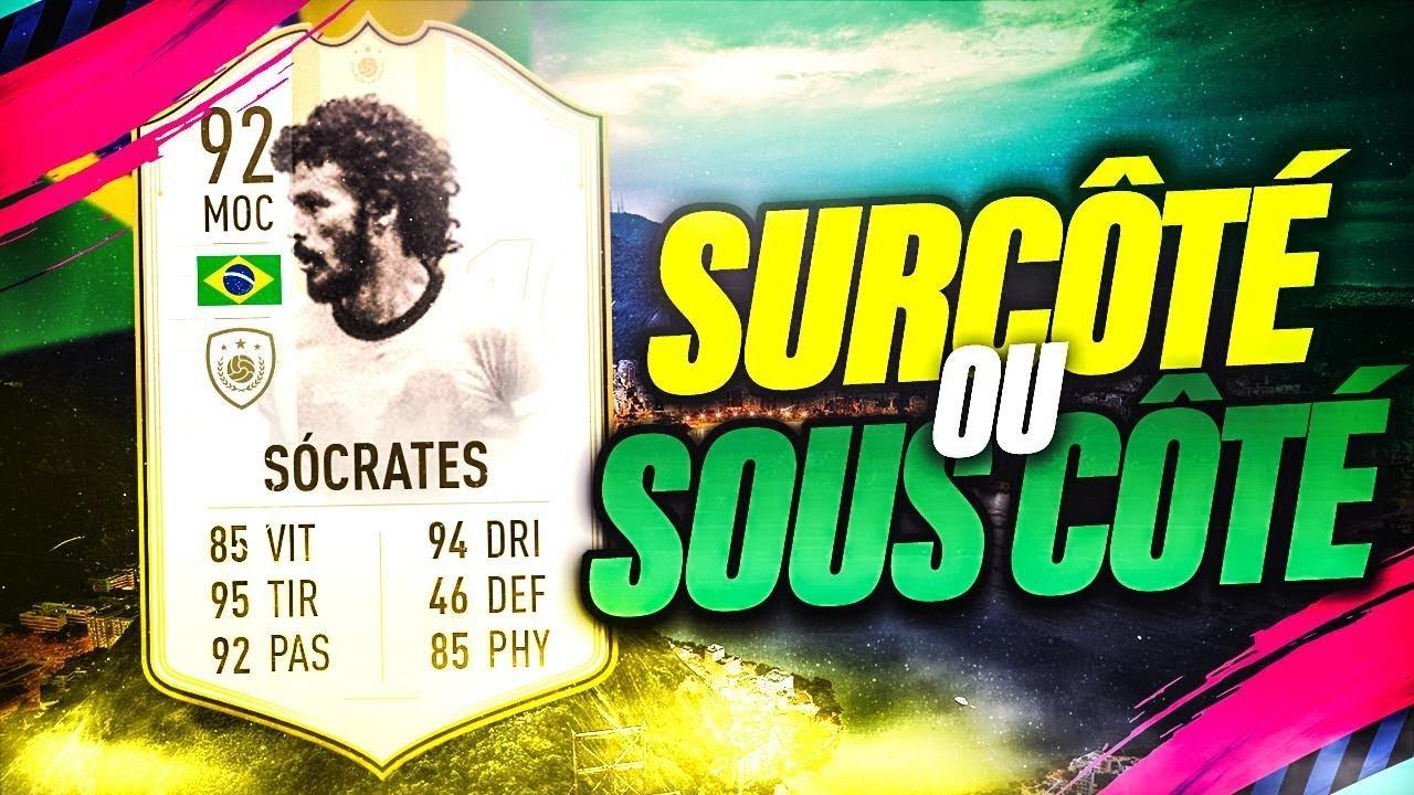 FIFA 19 - ON TESTE SOCRATES 92 EN FUT CHAMPION ET CONTRE UN TOP 100 !