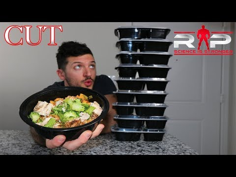 Cutting Full Day Of Eating | Renaissance Periodization Auto-