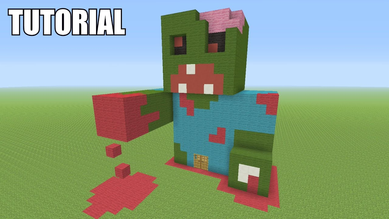 Awesome Cute Skull Wallpapers Minecraft Tutorial How To Make A Zombie Survival House