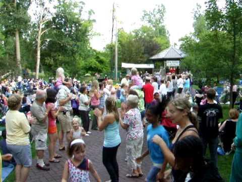 Rick Lieder Band Dancing in Depot Park