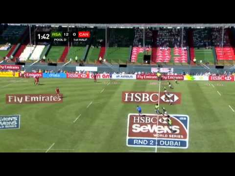 Emirates Airline Dubai Rugby Sevens - South Africa vs Canada