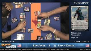 2013 Magic World Championship - Modern Round 11 - Ben Stark vs. Brian Kibler