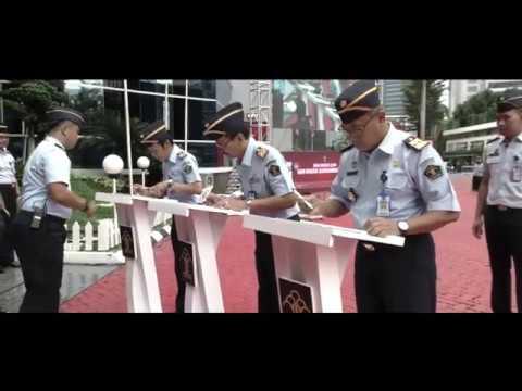 Pelaksanaan Apel Deklarasi Janji Kinerja Kementerian Hukum dan Hak Asasi Manusia Tahun 2020