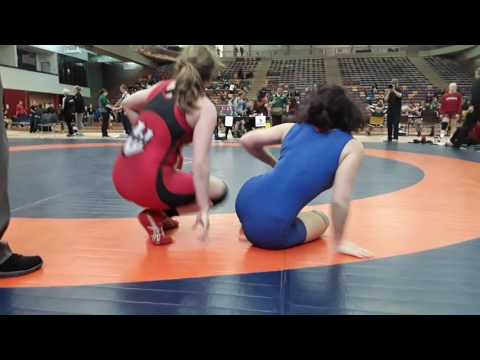 2016 Dino Invitational: 59 kg Morgan Hill vs. Cristina Corecencova