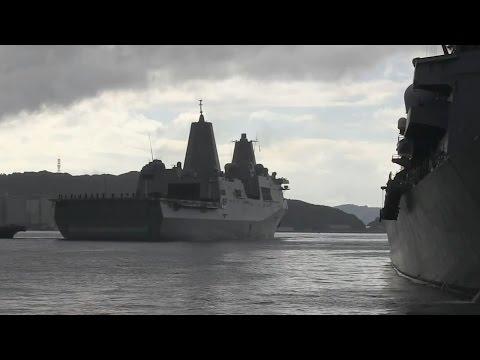 USS Green Bay Arrives in Sasebo, Japan