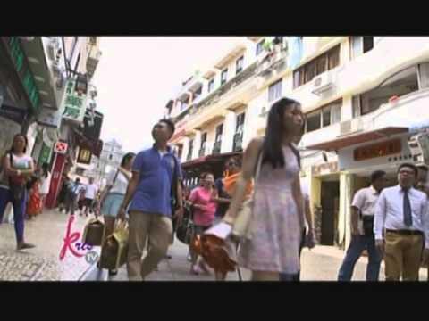Kris, pinuntahan ang St Paul Ruins at Senado Square sa Macau