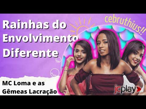 MC Loma e as Gêmeas Lacração em entrevista para o JC