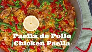 Paella de Pollo (Chicken Paella)