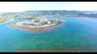[4K] 奥武島 Drone Footage   okinawa islands Japan 沖縄 ドローン thumbnail