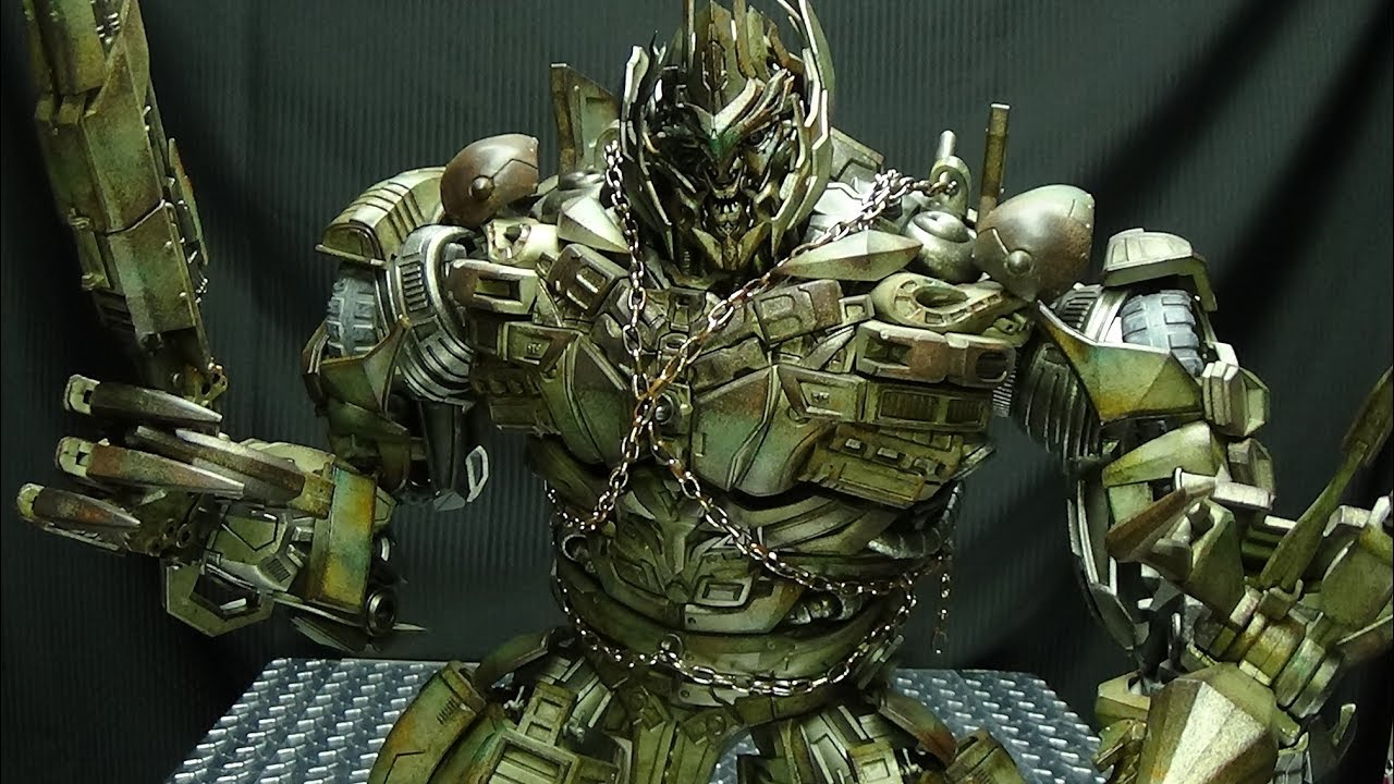 ThreeA Dark of the Moon MEGATRON: EmGo's Transformers ...