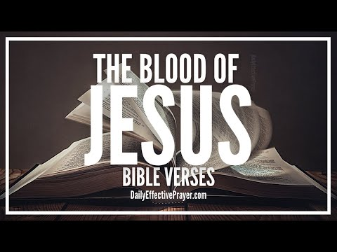 Bible Verses On The Blood Of Jesus | Scriptures On Blood Of