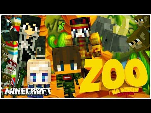 Minecraft ZOO - HUNTER MAŁPY I INDIANIE - Maxi & Mini [#7]