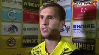 Вутов: Радвам се, че играя за Ботев