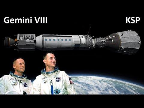 Space Race KSP - Gemini 8 - Making History