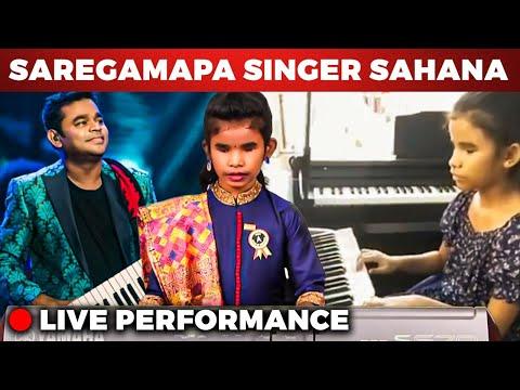 SAREGAMAPA Singer Sahana - Live Performance | AR Rahman | Ilaiyaraaja | Cobra | Thumbi Thullal |